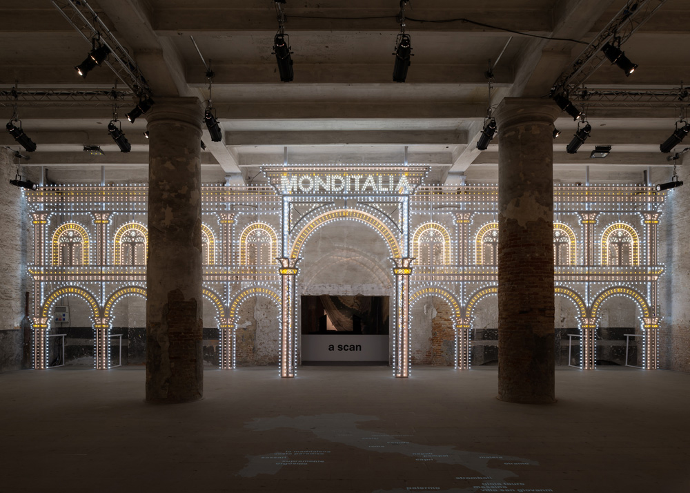 Luminaire Light Installation by Rem Koolhaas at Venice Biennale 2014
