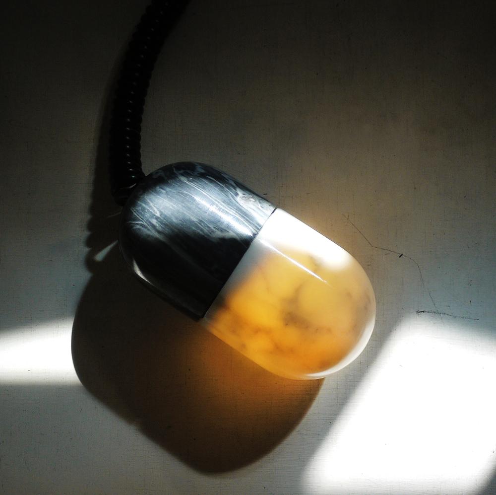 Marble Manhattan Lamp by Caula Studio