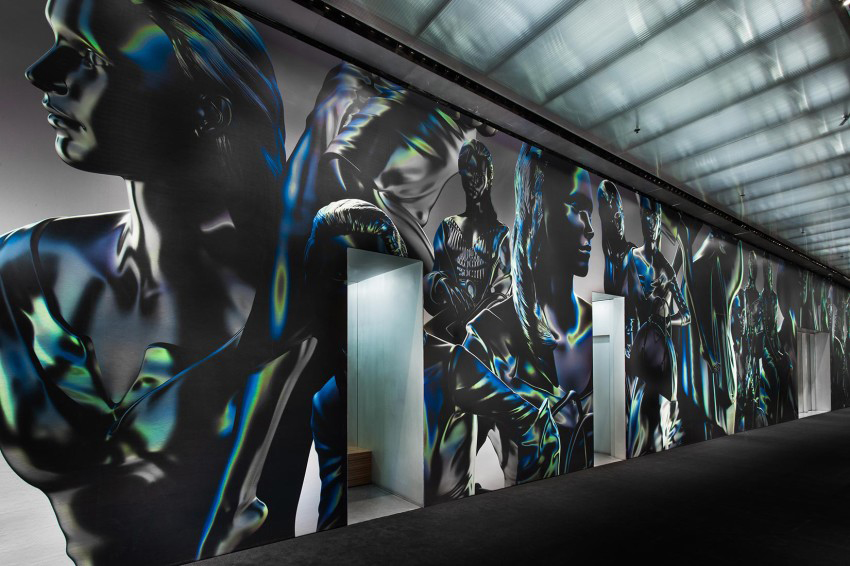 Prada Store New York City Soho 3D XL Wallpaper by More Soon