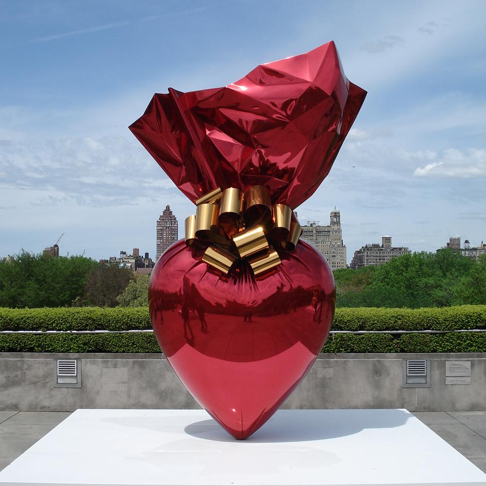 Artist Jeff Koons Retrospective at the Whitney Museum