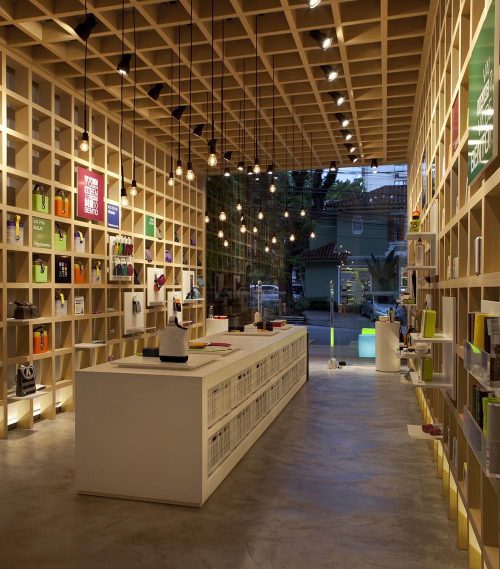Bento Store Sao Paulo designed by Architect Leticia Nobell