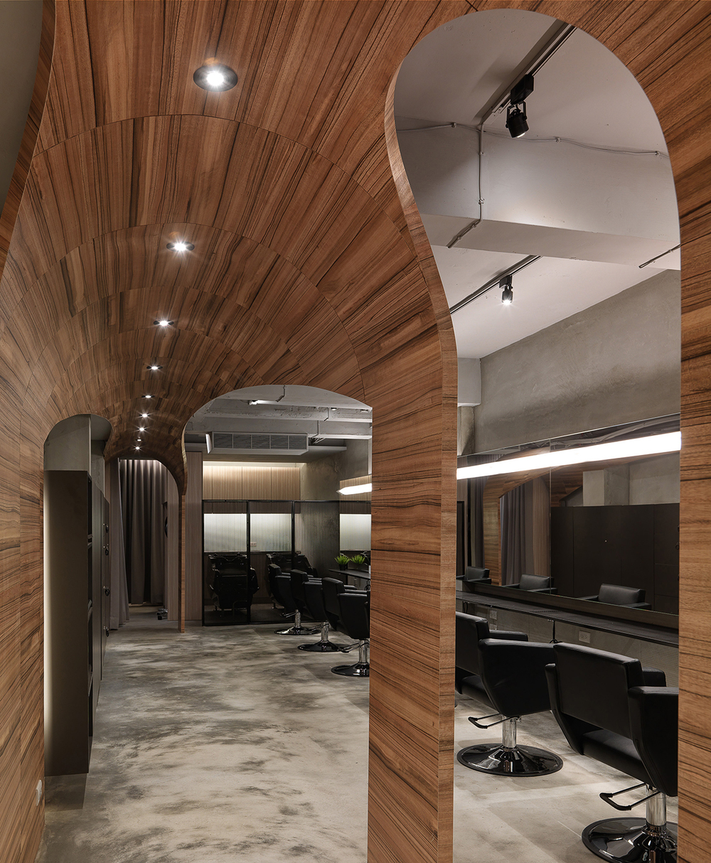 How Fun hair salon in Taipei designed by JC Architecture
