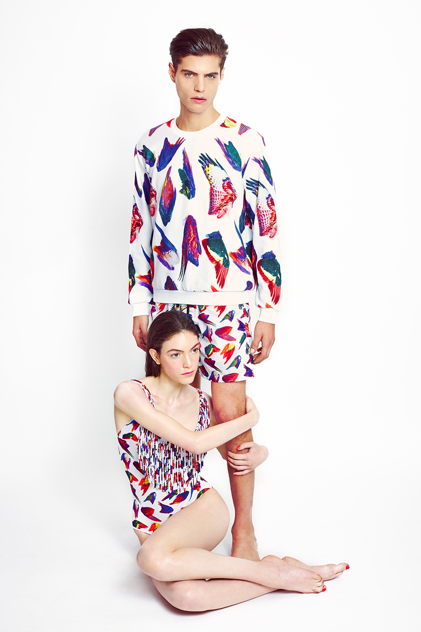 MSGM x Toiletpaper collaboration 2014