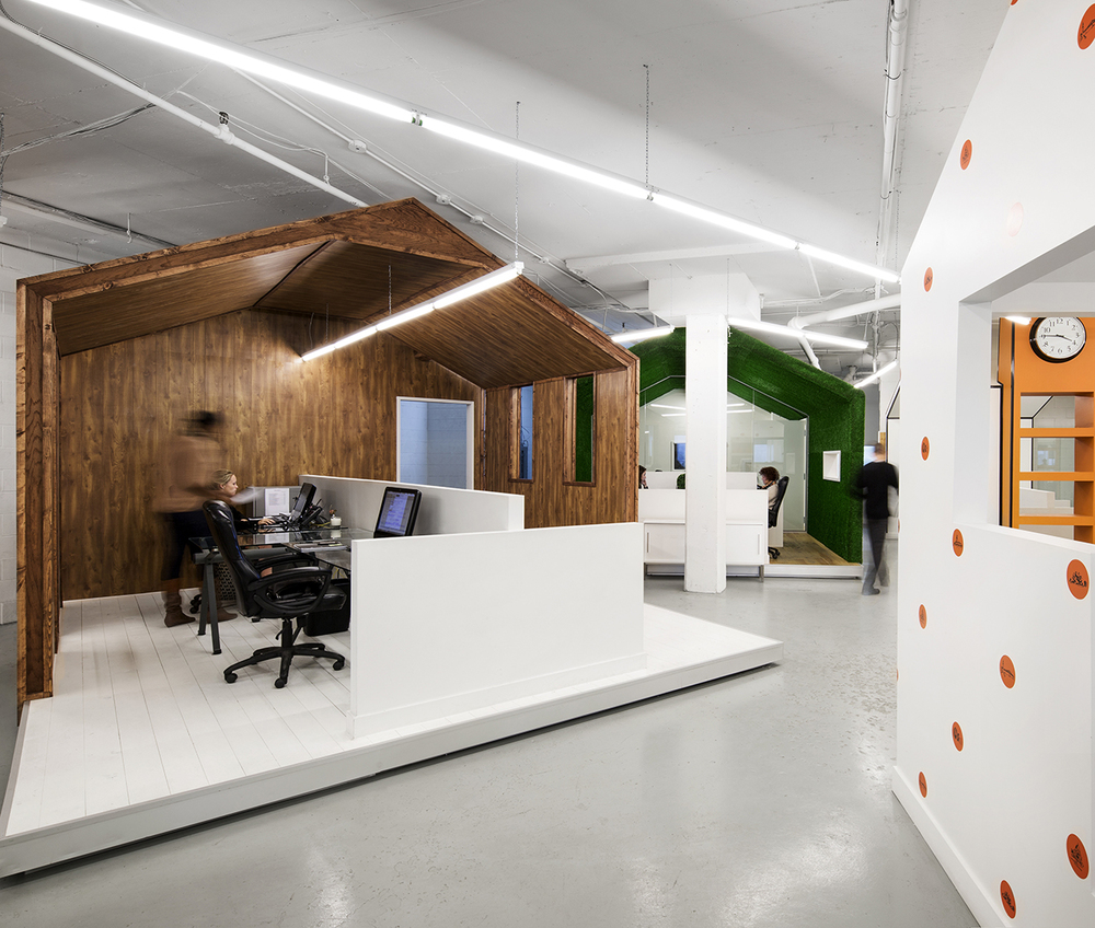 BICOM Offices by Jean de Lessard, Montreal