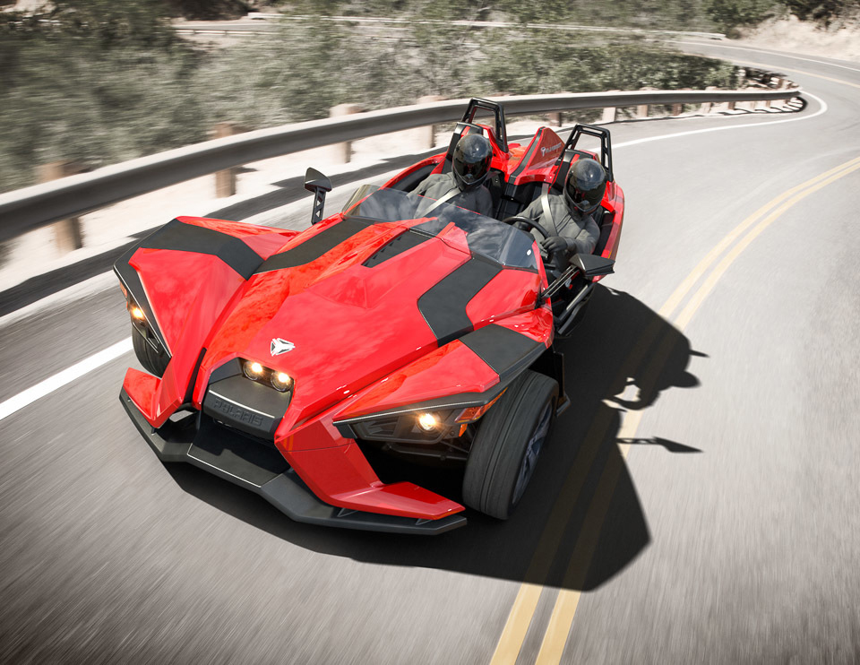 Polaris Slingshot two seater 2015