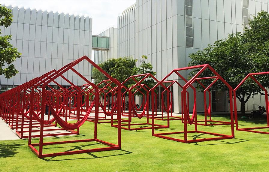 Esrawe Mi Casa Your Casa art installation