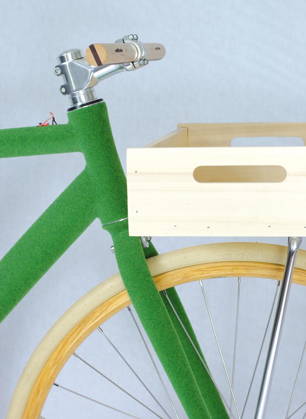 Super Green Bike by Swab Design
