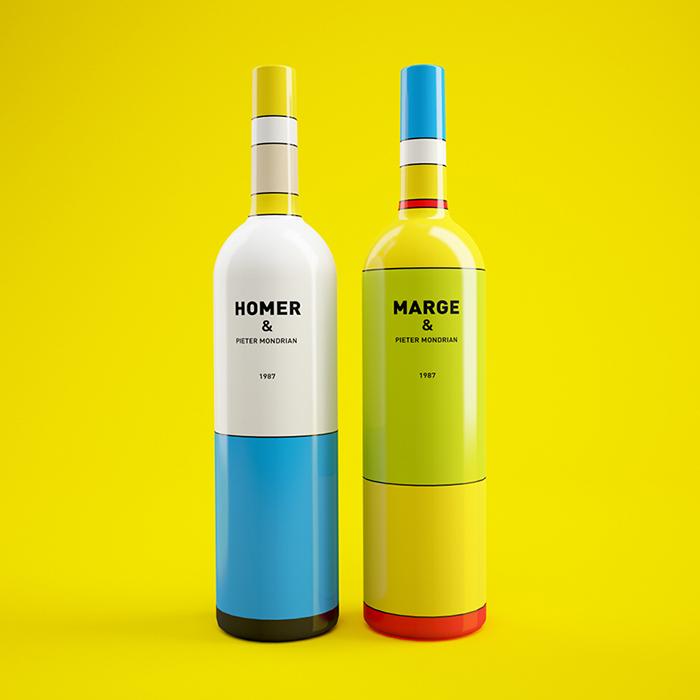 Homer-Simpson-Wine-Bottle-Pietre-Mondrian-By-Constantin-Bolimond-B.jpg