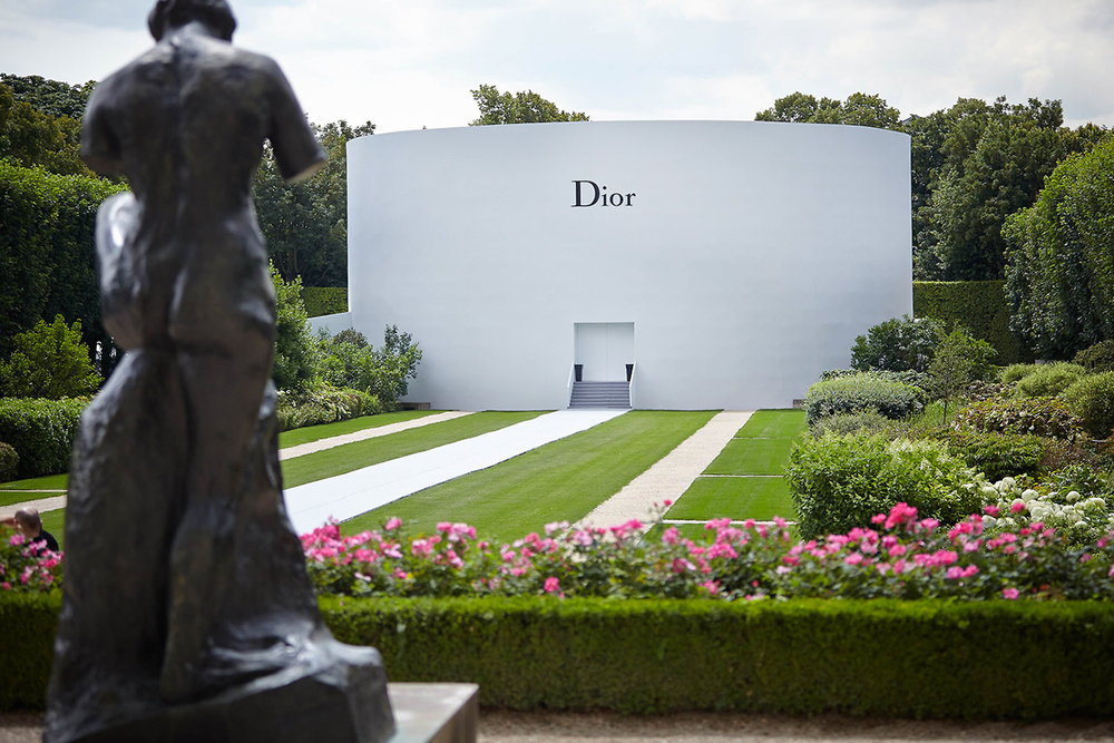 Christian Dior Couture Fall/Winter 2014 Fashion Show Musee Rodin in Paris