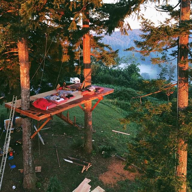 Treehouse Living on Foster Huntington Instagram