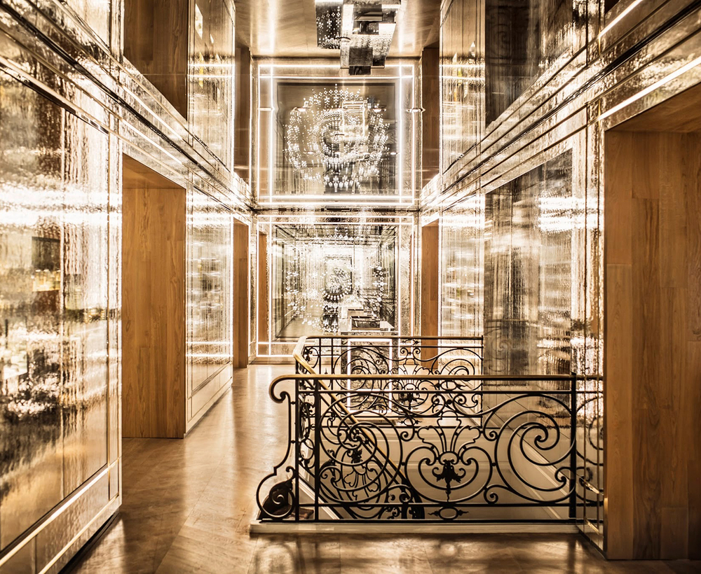 Ideas For Wall Silver Furniture likewise And Art Deco Interior Design Of Corridor At The as well Boutique Ch s Elysees besides Apartment Furniture Design Ideas furthermore Maison Guerlain Perfumery By Peter Marino Architects. on maison guerlain perfumery by peter marino architects