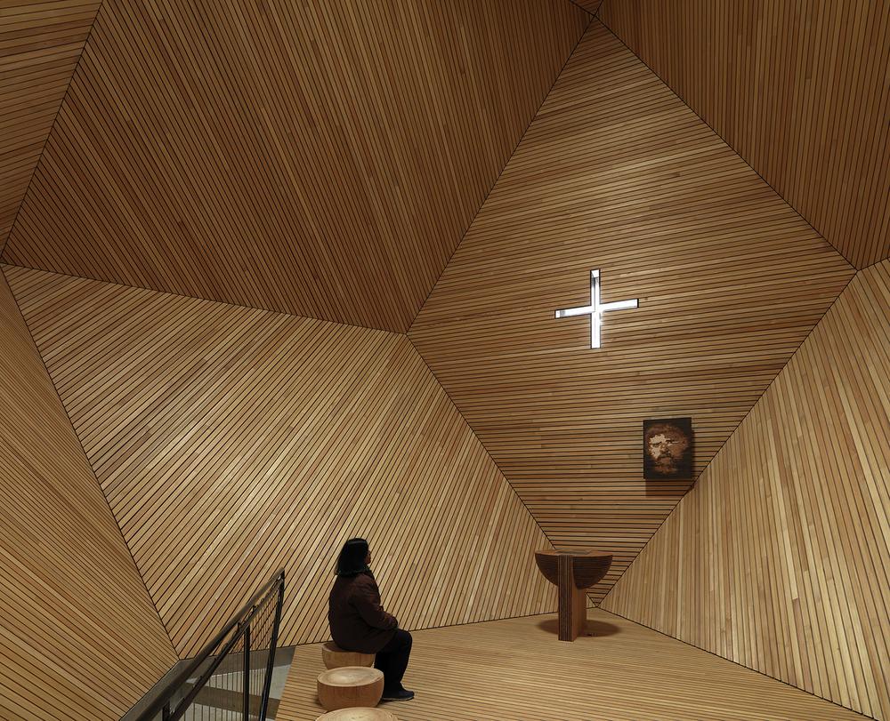 Cappella Granato in Zillertal, Austria by  Mario Botta