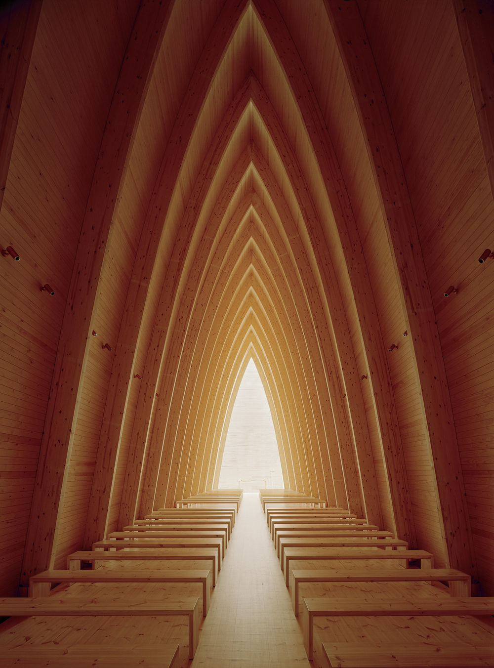 St. Henry's Ecumenical Art Chapel in Turku, Finland by   Sanaksenaho Architects ltd  .