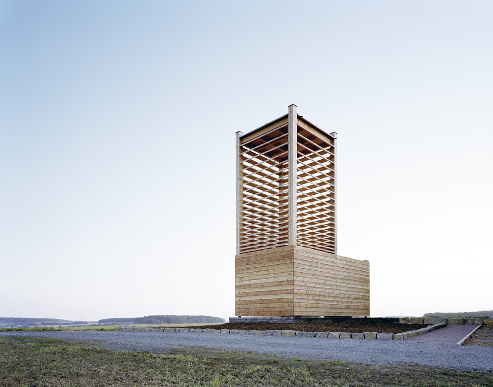 Field Chapel in Boedigheim, Germany by  Students at the College of Architecture at the Illinois Institute of Technology .