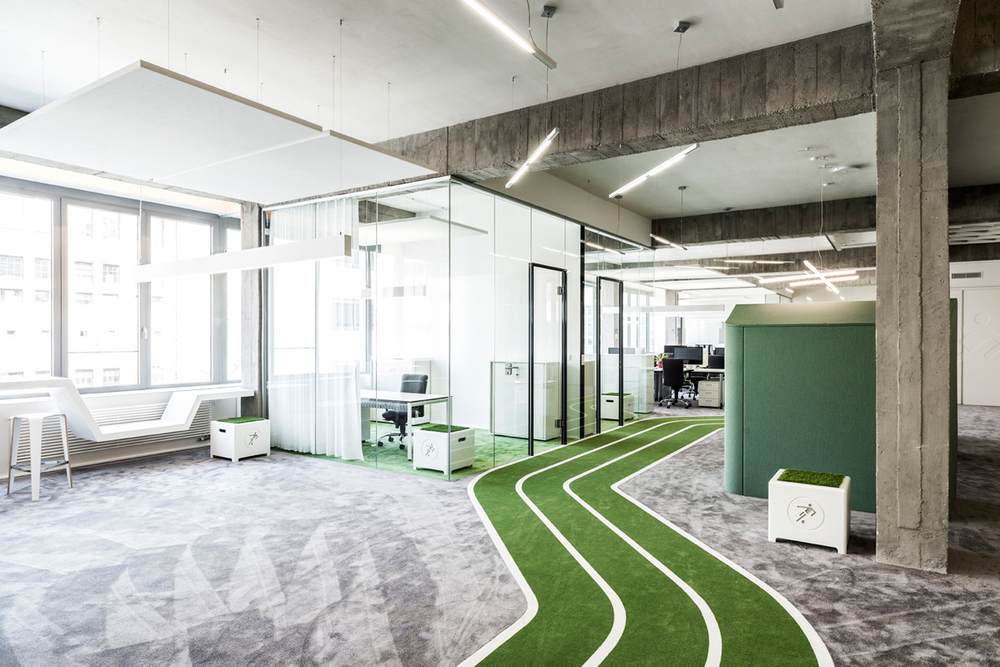 Onefootball Office Berlin by TKEZ Architects