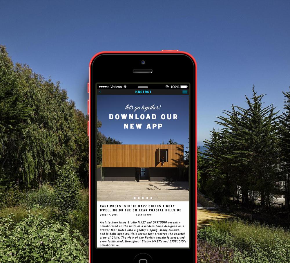 knstrct app designed by dwnld