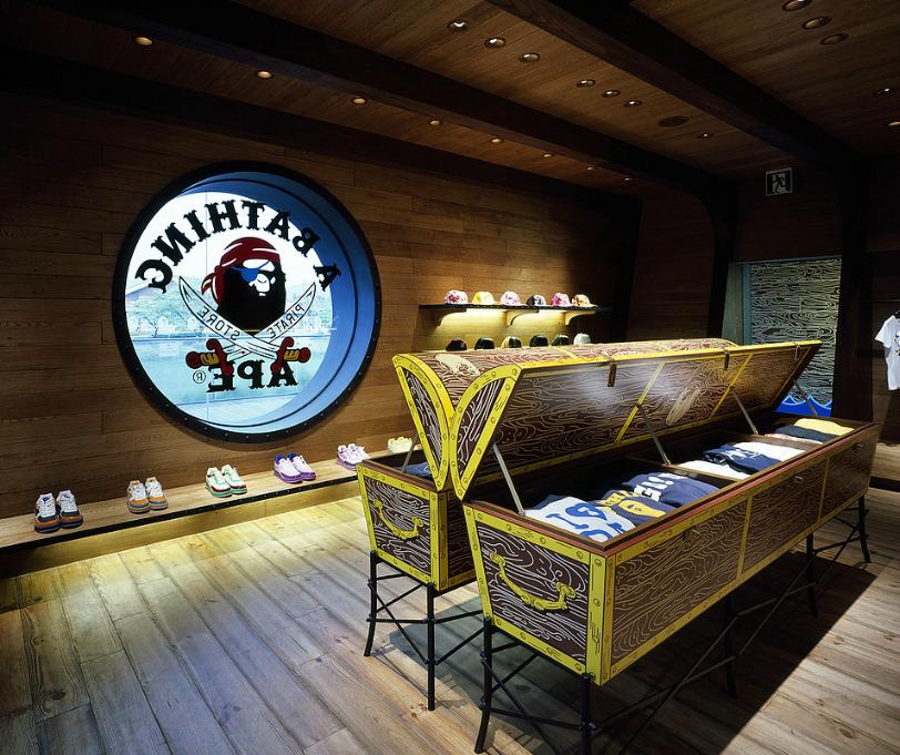 Bathing Ape Pirate Store in Karuizawa by Wonderwall