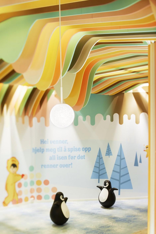 Diplom ice cream castle by Scenario Interior Architects