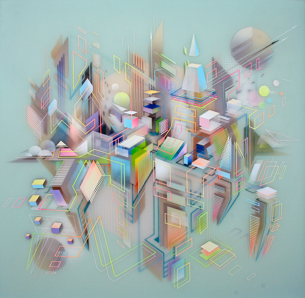 "Miami's Francesco LoCastro's ""Geometry"" Series"