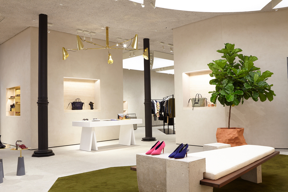 Celine Store in Soho NYC by FOS