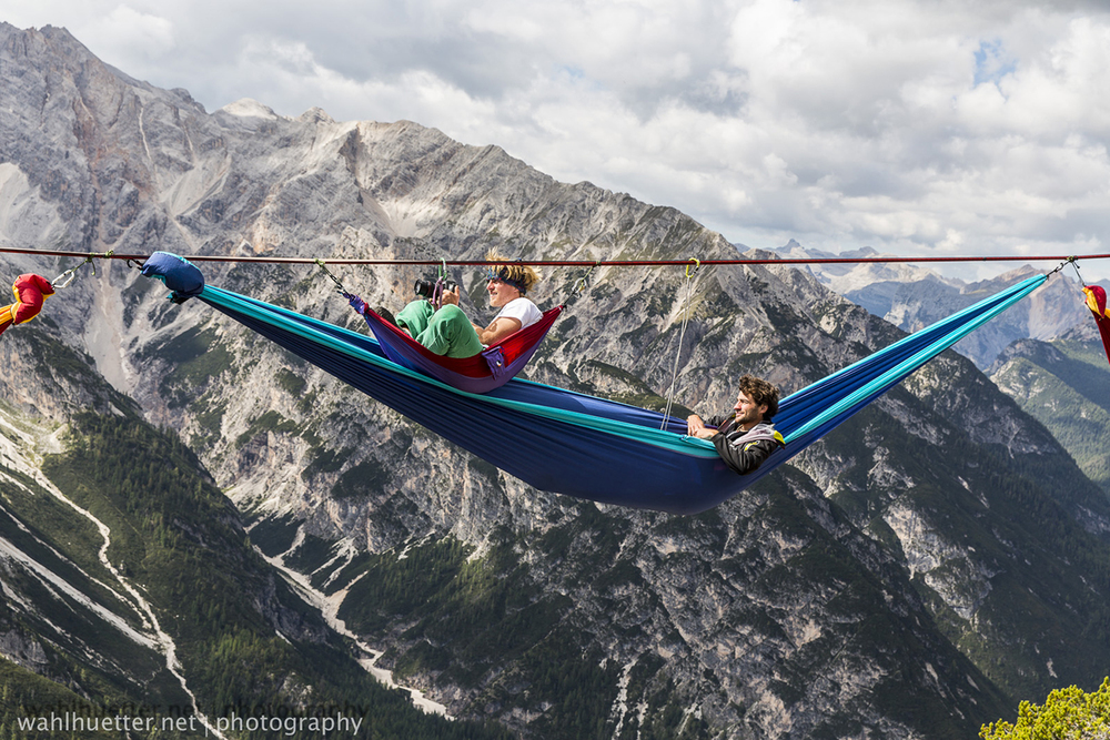 International Highline Meeting 2014 Monte Piana, Dolomites.