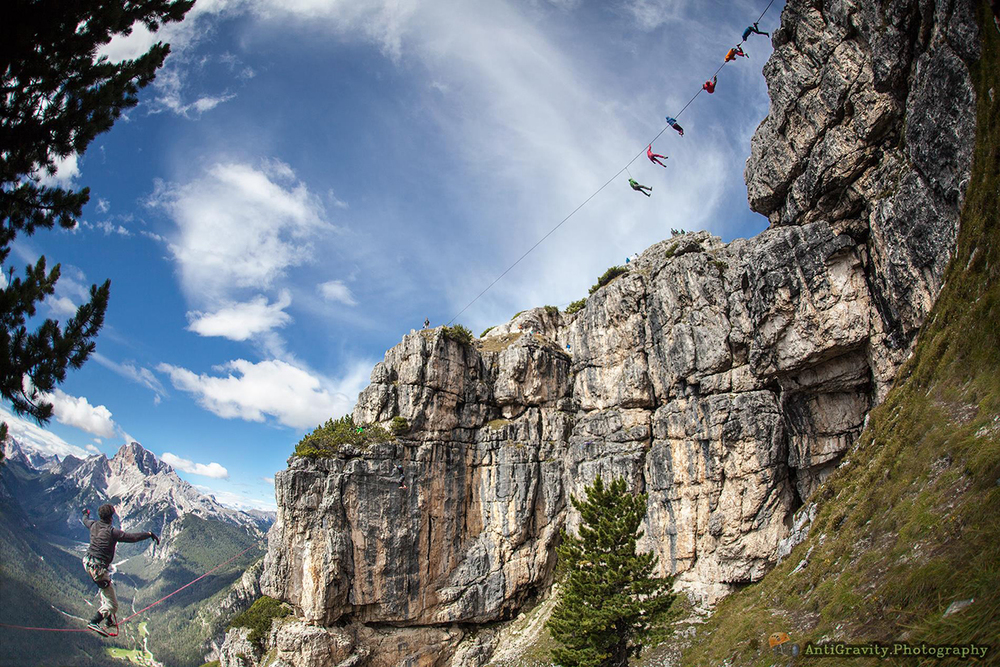 International Highline Meeting 2014 Monte Piana, Dolomites.