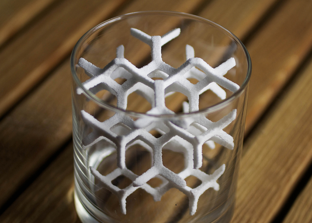 3D Sugar Cube Printing at The Sugar Lab in Los Angeles, California