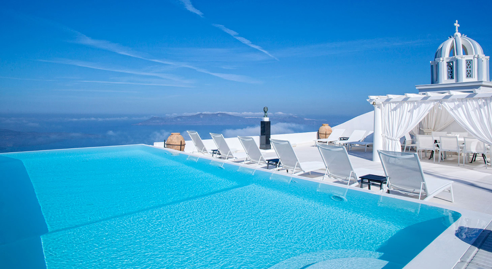 The Tsitouras Collection Hotel  in Santorini, Greece.
