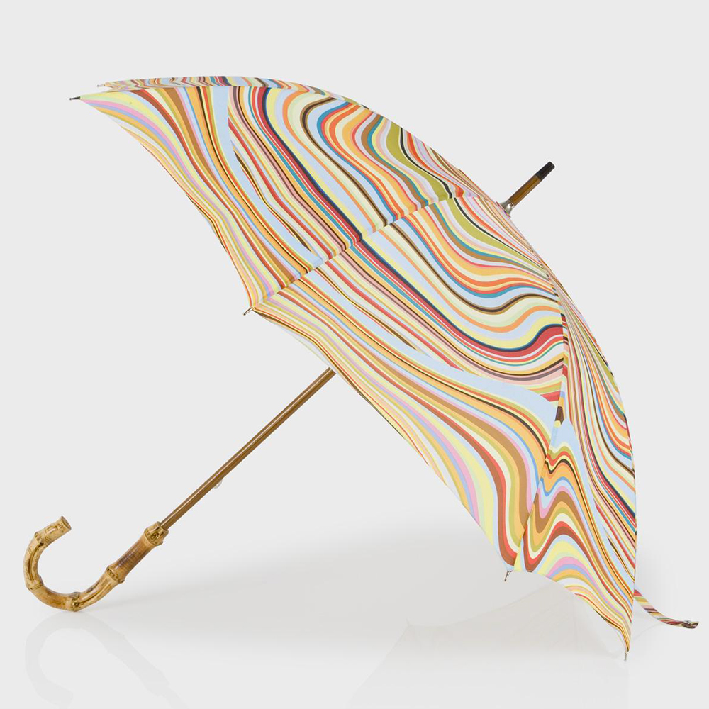 Paul Smith, Swirl Print Walking Umbrella $125