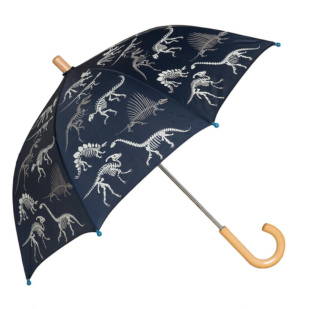 Raindrops, Hatley Dino Bones Umbrella $25