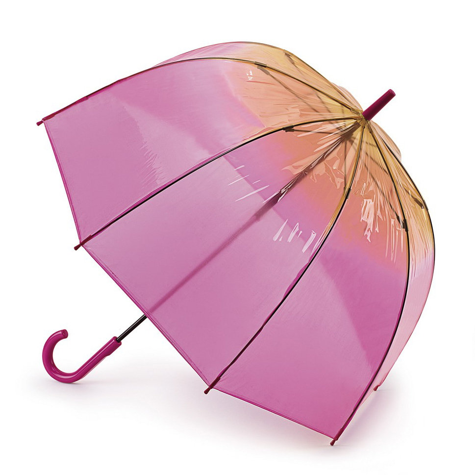 Raindrops, Fulton Ombre Tinted Birdcage Bubble Umbrella $30