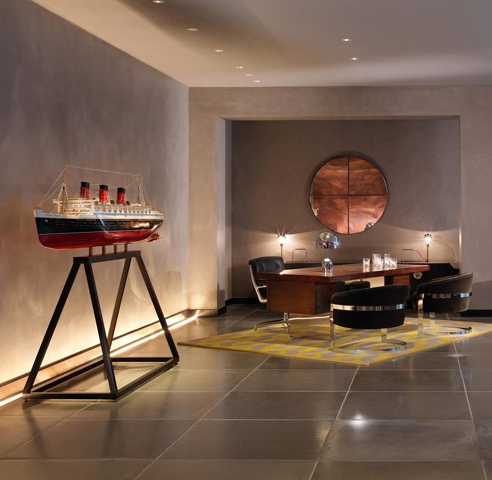 The mondrian london tells anew an old story knstrct for Hotel design london