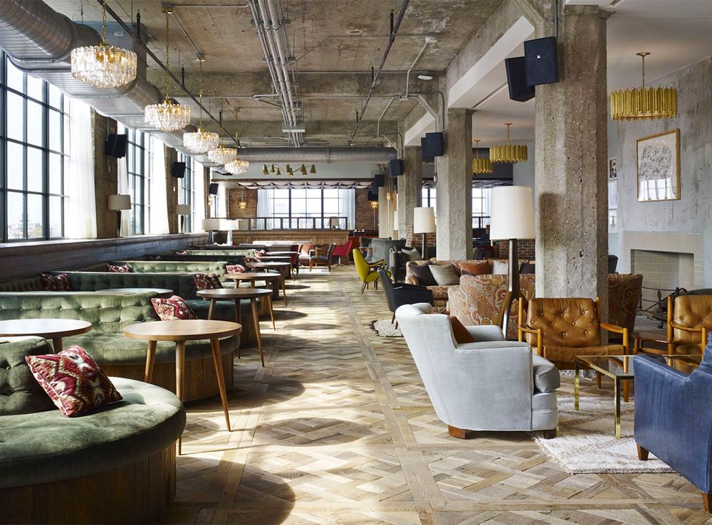 Soho house takes over old belt factory in chicago knstrct for London hotel chicago
