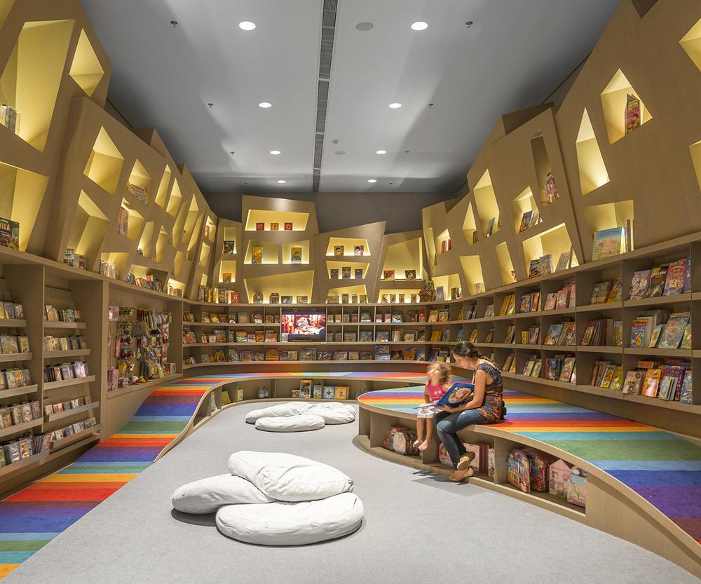 Saraiva Bookstore by Arthur Casas