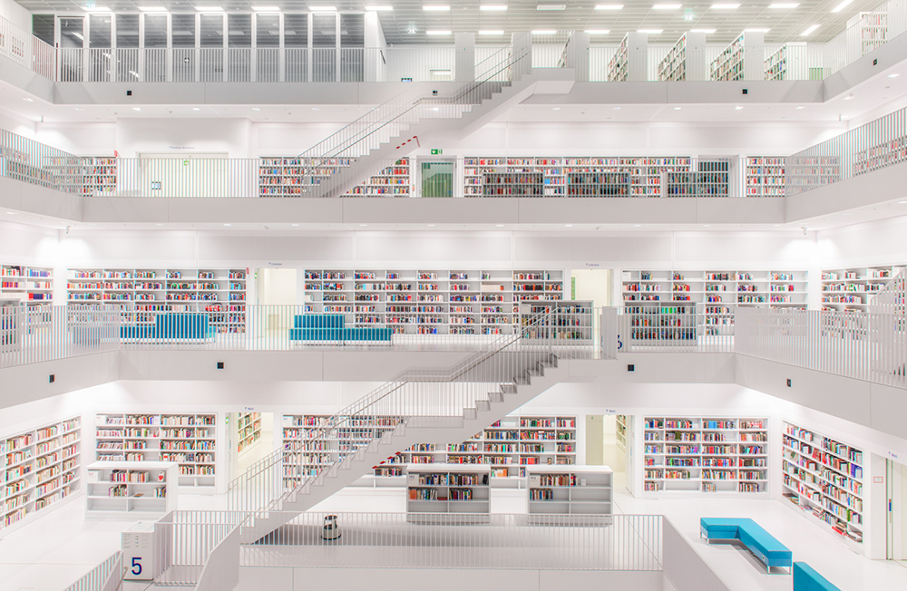 Stuttgart City Library by Yi Architects