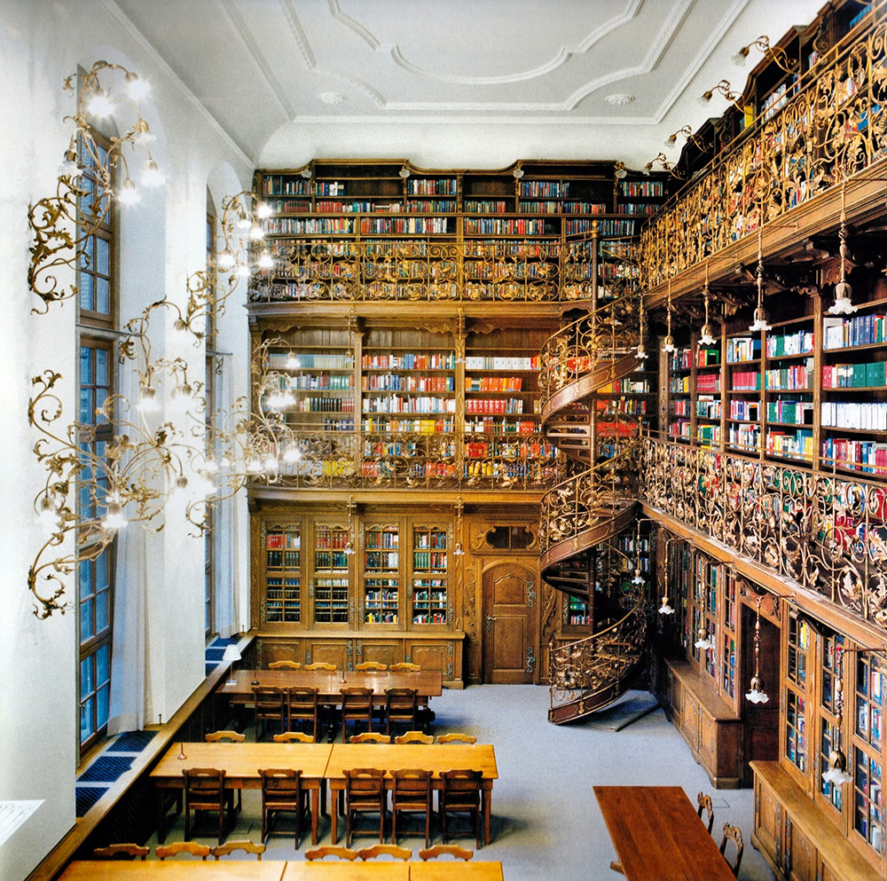 For old time sake, the Law Library of Munich