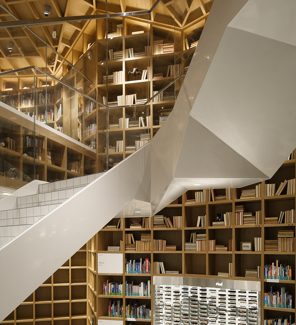 Hyundai Card Travel Library by Wonderwall