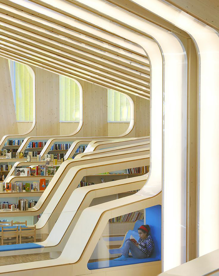 Vennesla Library by Helen + Hard