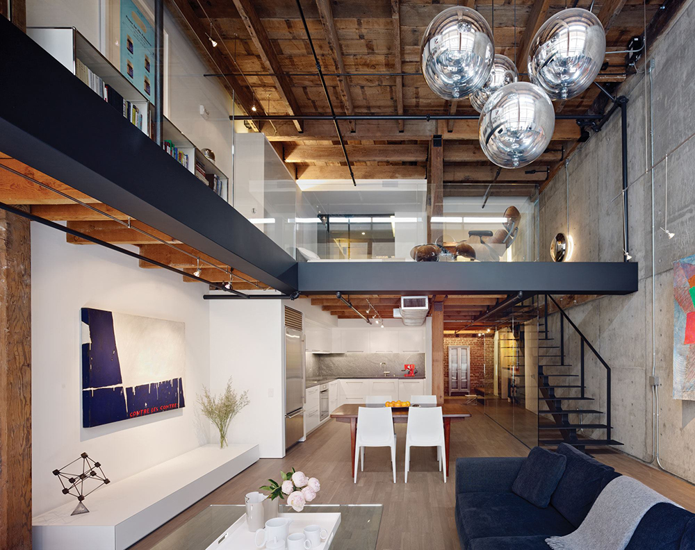 Reinventing san francisco 39 s oriental warehouse loft knstrct for Architecture orientale