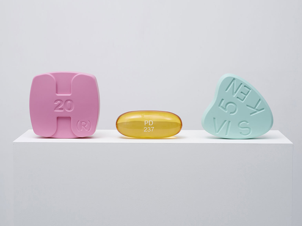 Schizophrenogenes' by Damien Hirst, 2014. On display at Frieze London October 15th-18th. Photography: Prudence Cuming Associates