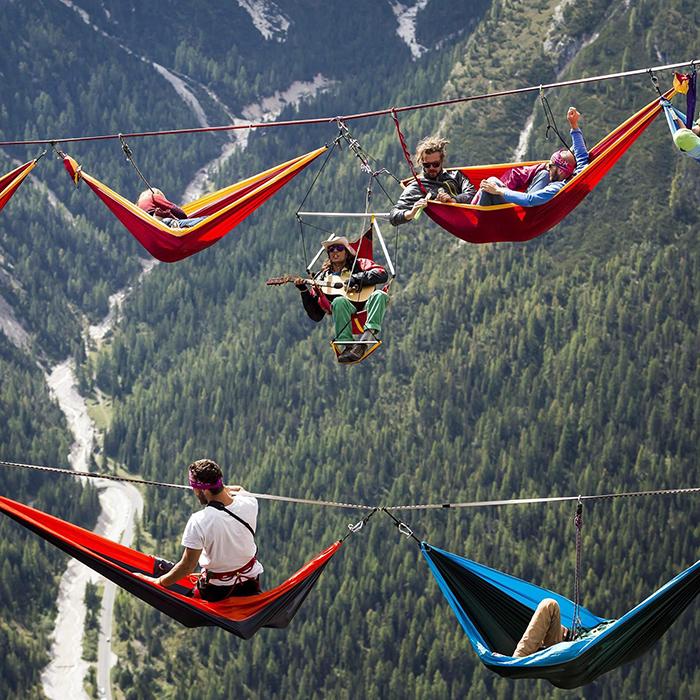 Bucket List No. 6: Stroll, Strum or Sleep your way along a Tightrope across the Italian Alps