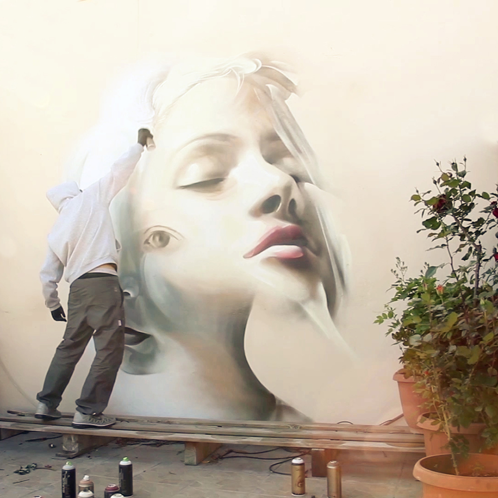 Artist iNo beautiful street art