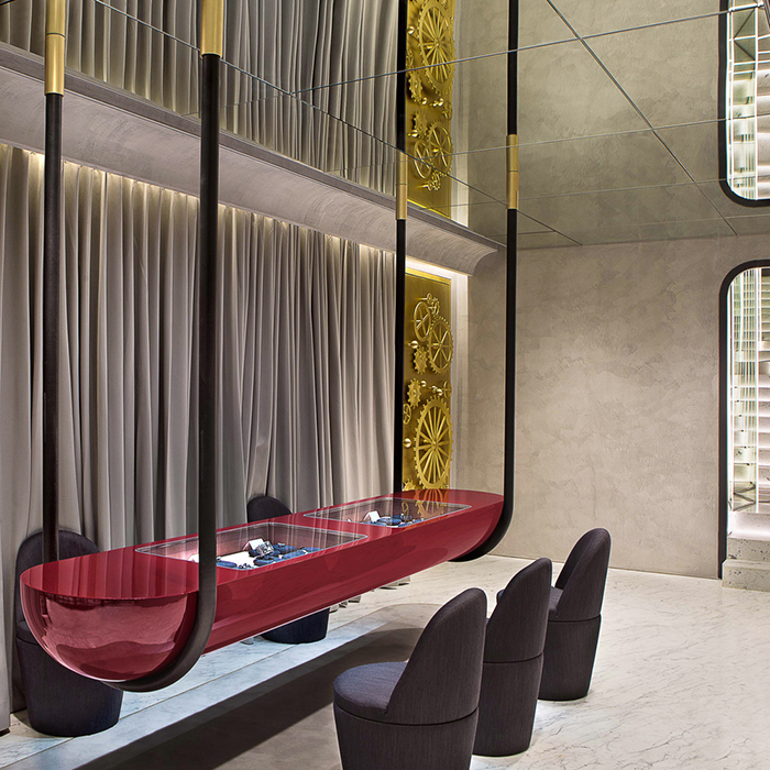 Diamonds In Situ: Nirav Modi Flagship Boutique by Jamie Hayon