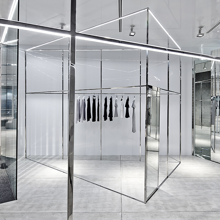 Akin Creative Designs Dion Lee's First Melbourne Boutique