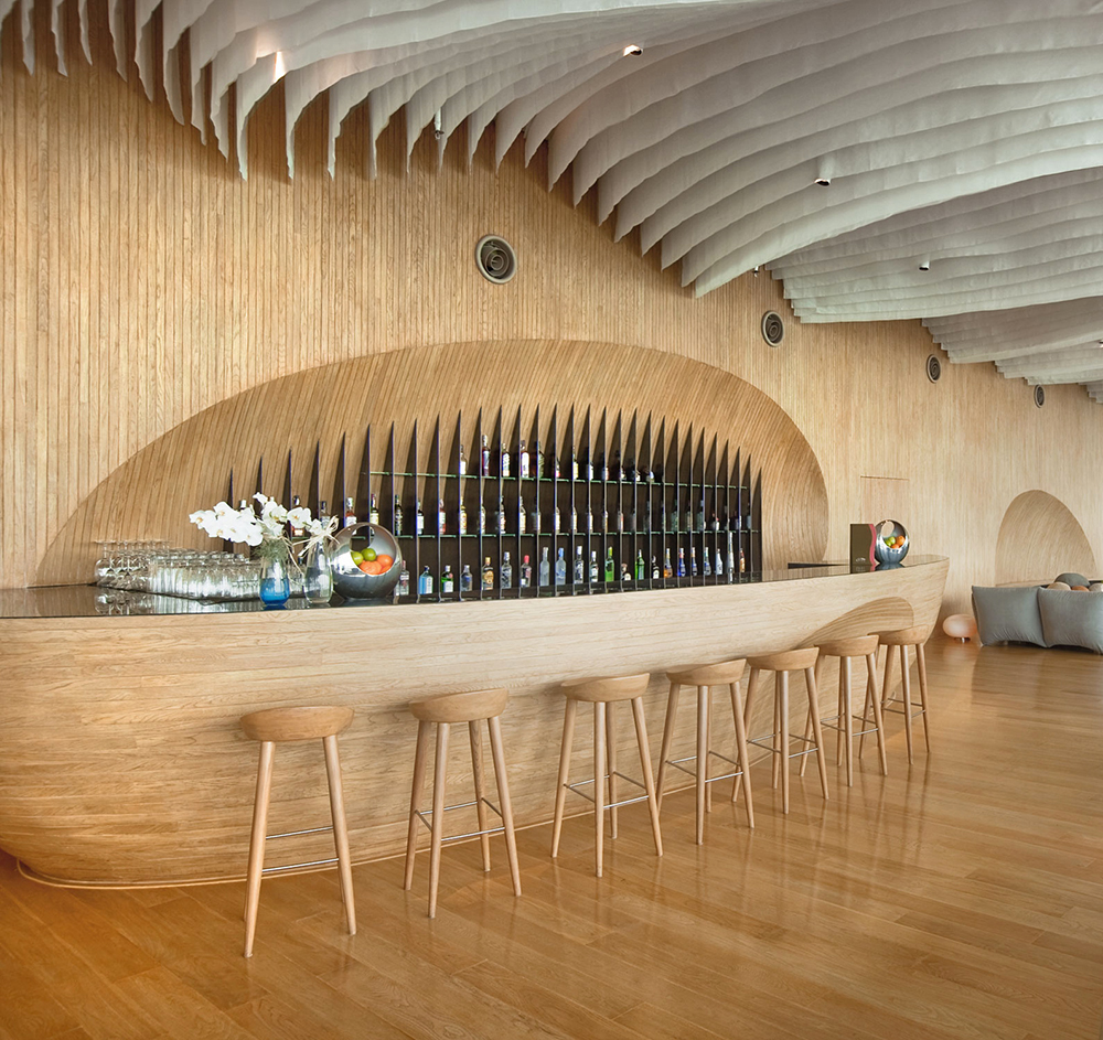 Hilton Pattaya Lounge by Department of Architecture. Pattaya, Thailand