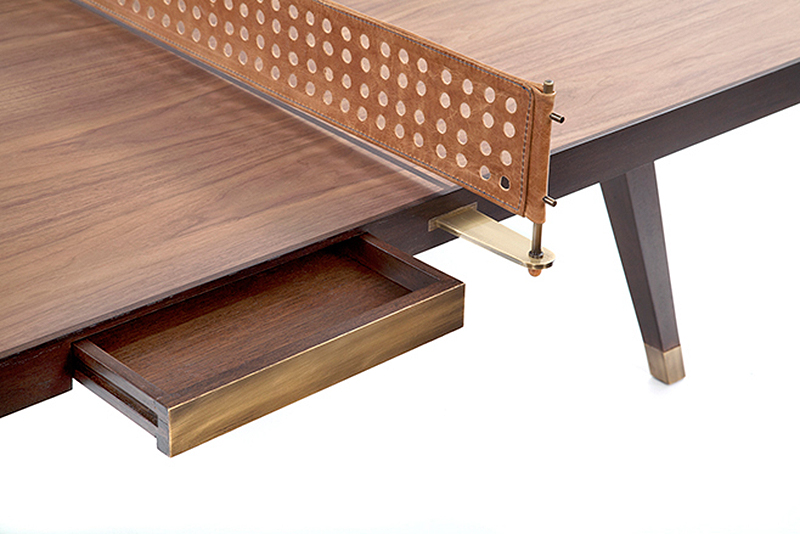 Beautiful Wood Ping Pong Table By Etel