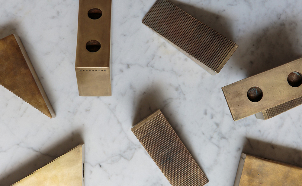 Candle Blocks by Apparatus Studio New York
