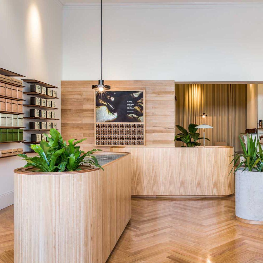Aesop Rundle Street Adelaide Store By Genesin Studio