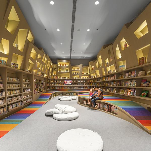Saraiva Bookstore by Arthur Casas, São Paulo, Brazil
