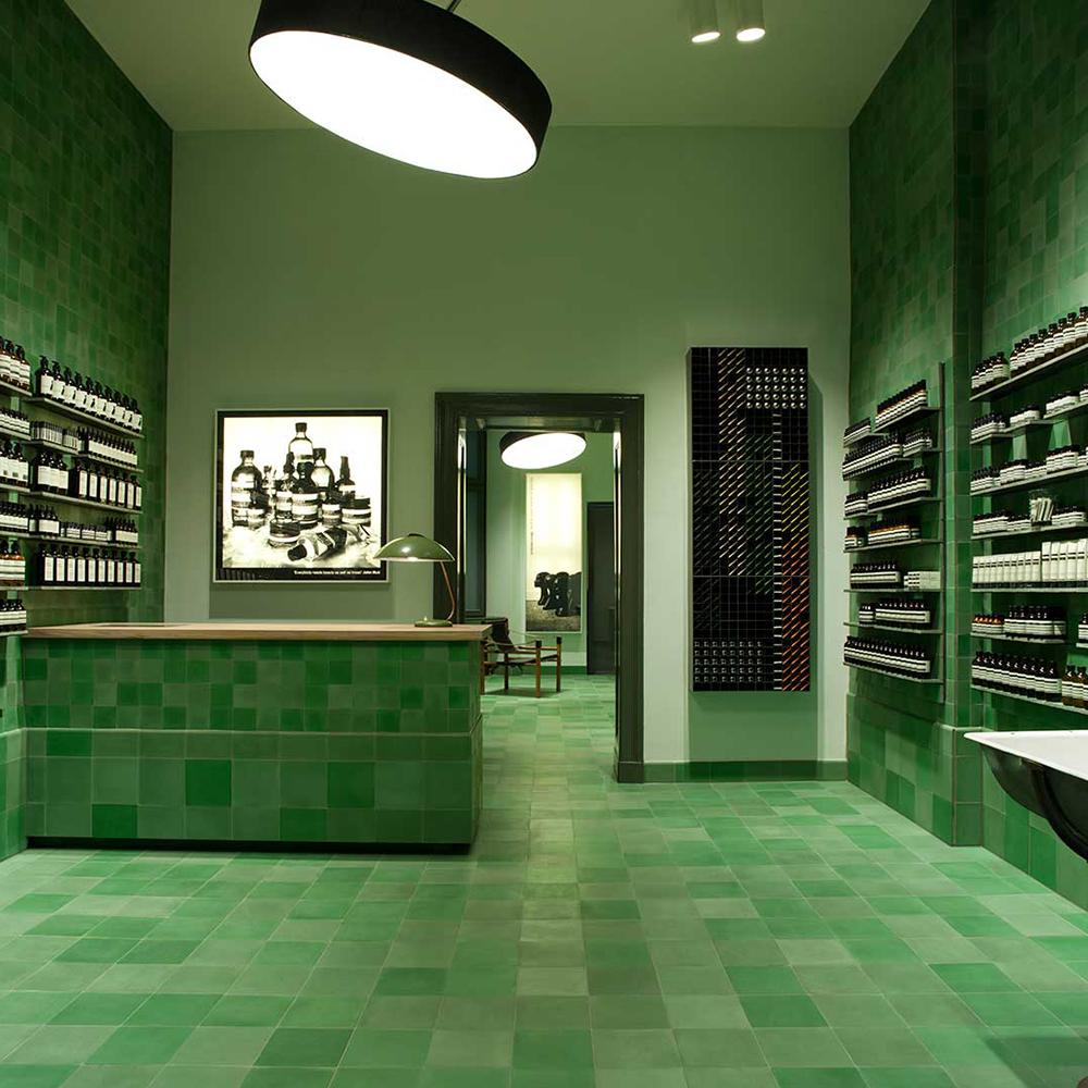 Aēsop Store by Weiss Heiten, Berlin